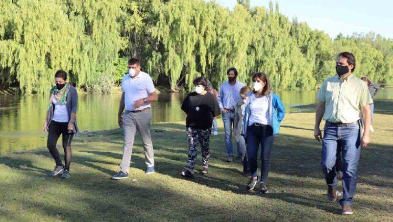 Recorrida por la Isla Jordán para afianzar el paseo natural
