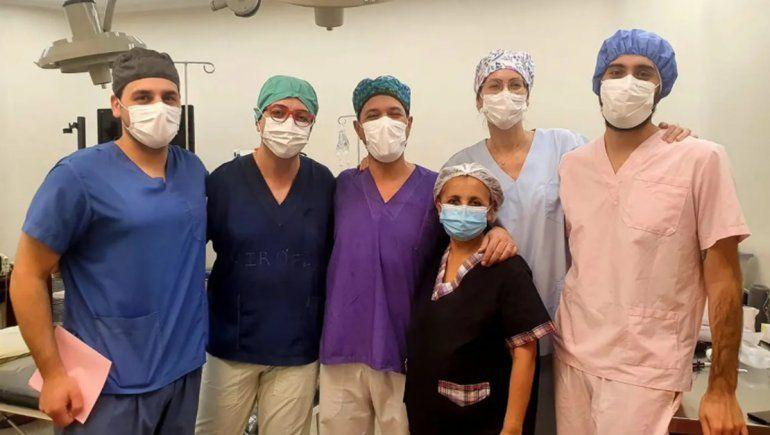 Se realizó un nuevo operativo de trasplante de córneas en Cipolletti