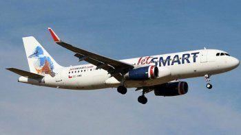 volvio jetsmart con dos vuelos semanales a ezeiza