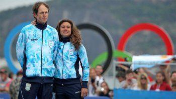 Santiago Lange y Cecilia Carranza Saroli, abanderados de Argentina en los Juegos Olímpicos.