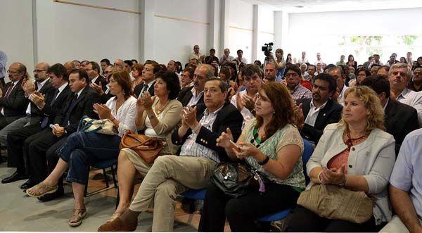 Tras encuentro con Cristina, Weretilneck y Pichetto compartieron acto provincial
