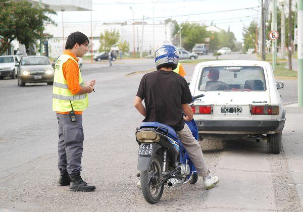 Récord de infracciones de tránsito durante enero en la ciudad