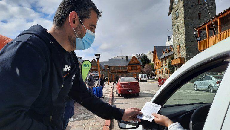 Covid-19: el Auto-Vac llegó a Bariloche y fue un éxito