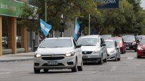 caravana en cipolletti en rechazo a la fuerte suba de los impuestos