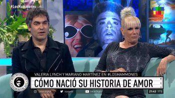 Valeria Lynch y Mariano Martínez contaron como surgió su romance