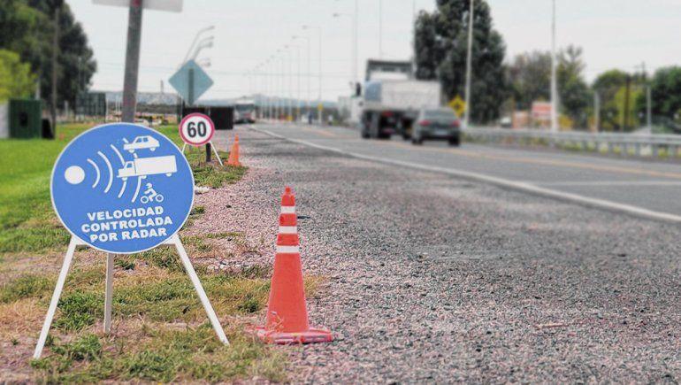 Ruta 22: aseguran que el radar de Belisle no tiene autorización para funcionar