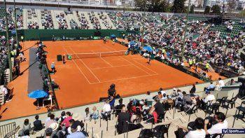 El público volvió y le dio color a la Copa Davis en el Lawn Tennis Club.