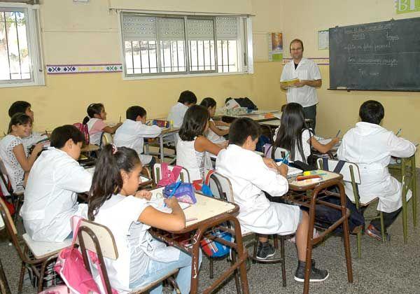 Se reanudó el ciclo lectivo en la Escuela 131