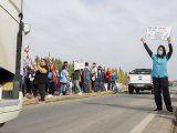 pereyra: pedimos que liberen las rutas, no represion