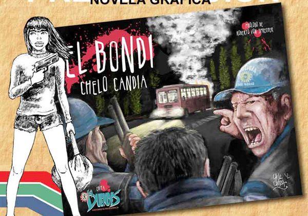 El libro del historietista Chelo Candia ya se consigue en librerías de la zona