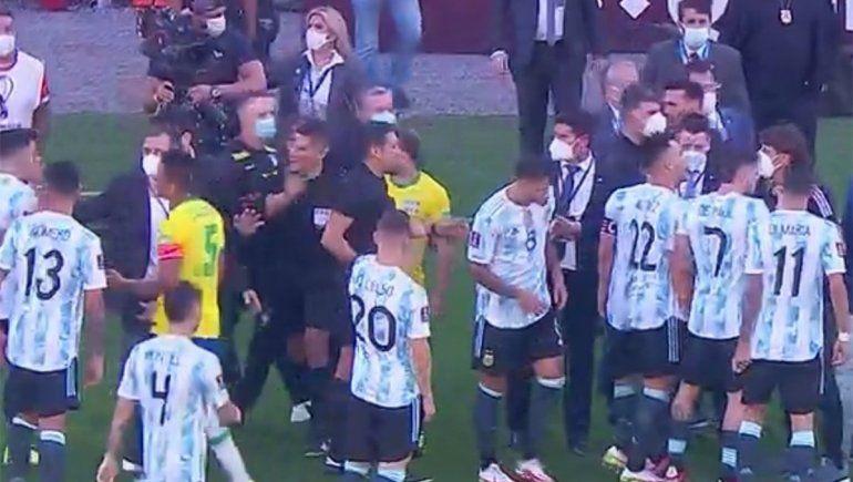 ¡Papelón mundial! Brasil-Argentina, suspendido por autoridades sanitarias