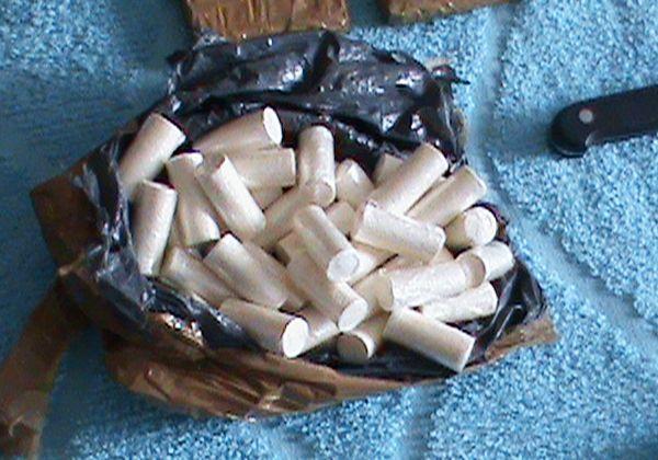 Detuvieron a un hombre con 11 kilos de cocaína en Casa de Piedra