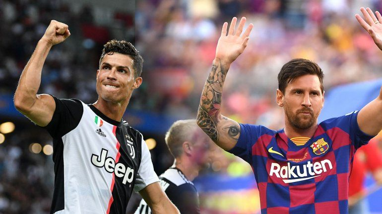 ¡Bomba! Juventus está decidida a juntar a Messi con Ronaldo
