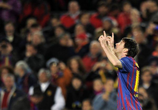 Messi sigue batiendo récords