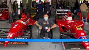 Matías Mussetta, el argentino que consiguió trabajar en Dallara