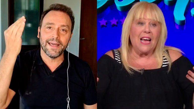 La fuerte pelea entre los periodistas Adrian Pallares y Laura Ubfal