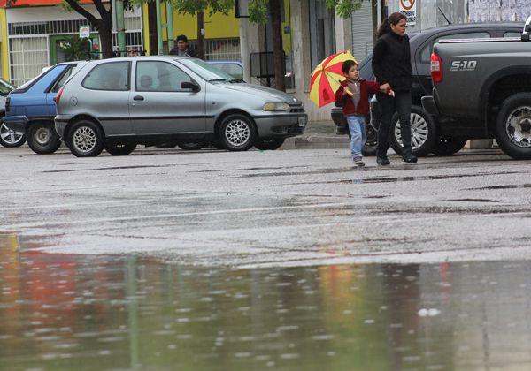 Alerta por lluvia y chaparrones