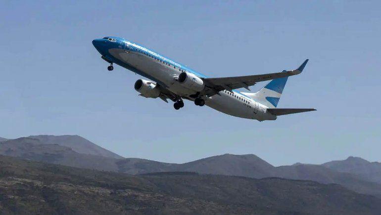 Vuelven los vuelos entre Viedma y Bariloche