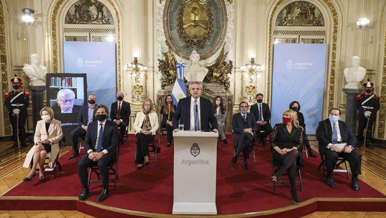 Alberto Fernández presentó el proyecto de reforma judicial