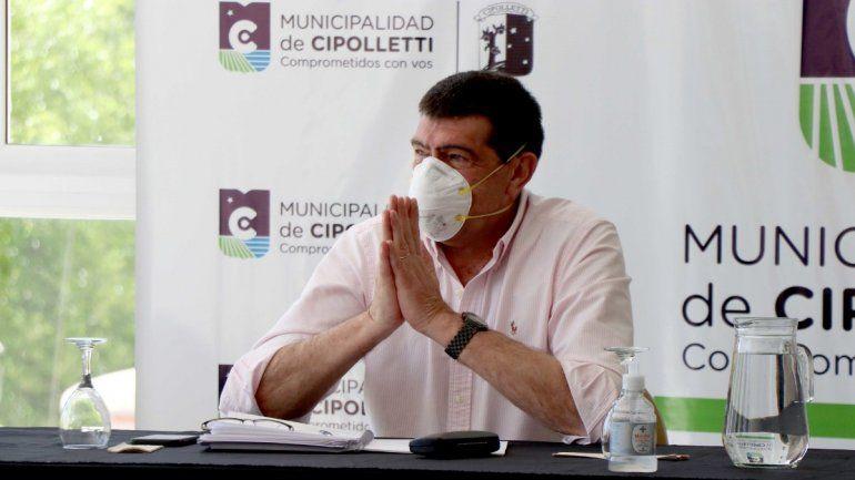 Di Tella no quiere el toque de queda nocturno en Cipolletti
