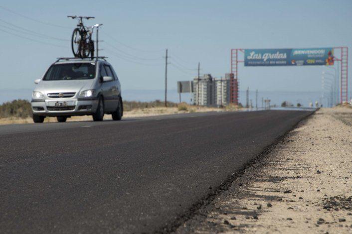 Río Negro cobrará peaje para llegar a Las Grutas por Ruta 2