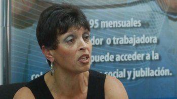 Sonia Kopprio quiere un adelantamiento de las paritarias anuales.