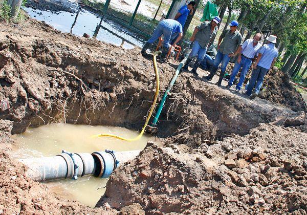 Una situación crítica en Allen por falta de agua