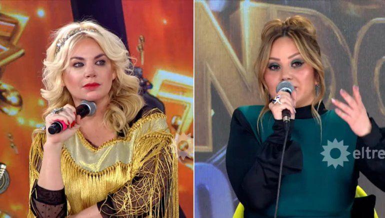 Escándalo en el Cantando: Karina se enojó con Esmeralda Mitre y le puso un 1