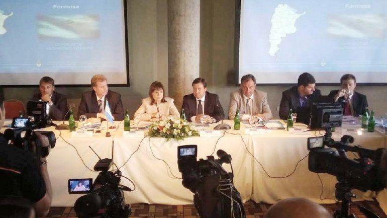 Reunión del Consejo de Seguridad Interior en Bariloche