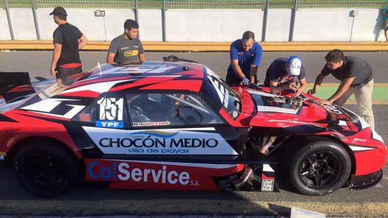 La Chevy de Urcera se mostró en Olavarría y está lista para el inicio del 2016.