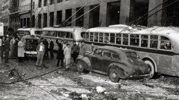 El video que recuerda el horror del bombardeo de 1955 en Plaza de Mayo
