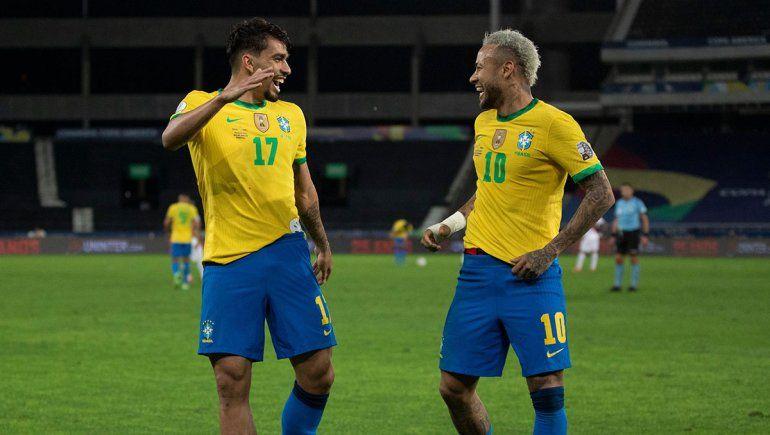 Brasil es finalista y Neymar quiere cruzarse con Argentina