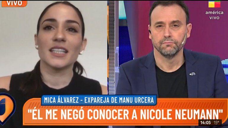 ¿Le contaste que el sábado cogi..?, le dijo la ex a Urcera frente a Nicole Neumann