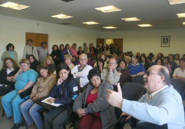 Hospitalarios de Cipolletti mantienen las retenciones
