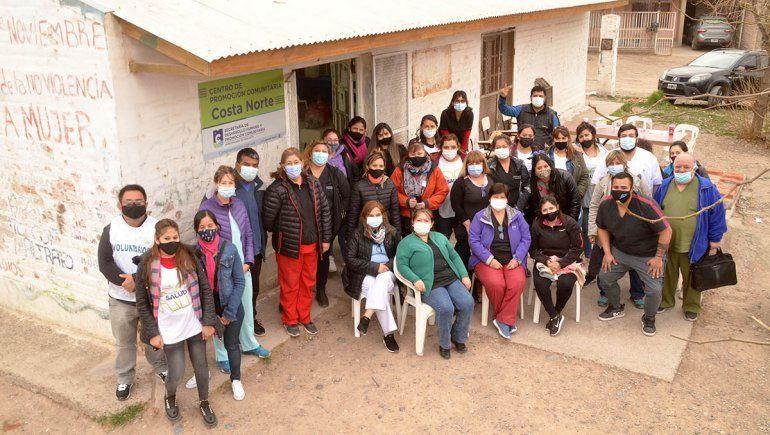 La vacunación en los barrios de Cipolletti es un éxito