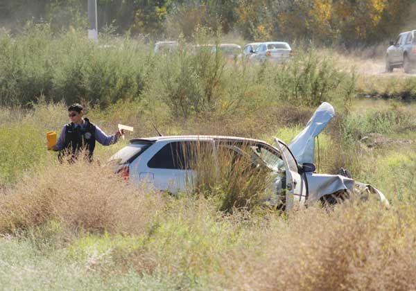 Un violento choque en la Ruta 151 dejó dos heridos