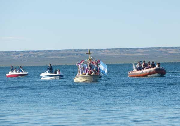 Exitosa Fiesta Provincial del Agua en el lago Pellegrini