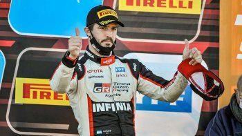 Matías Rossi le dio el visto bueno al relanzamiento a la par en el Súper TC2000