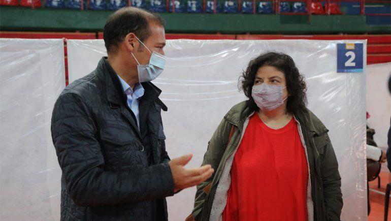 Vizzotti llegó al Alto Valle para examinar las medidas sanitarias