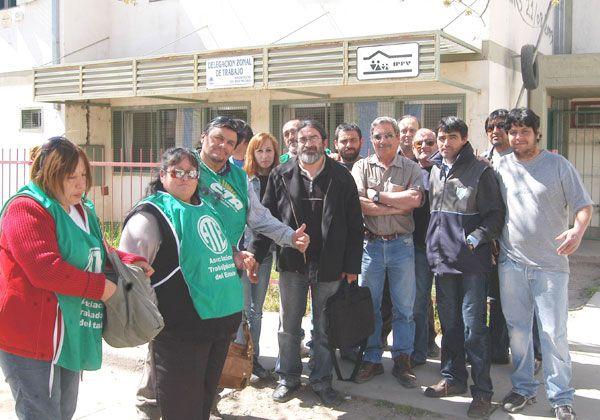 Delegados de ATE municipal levantaron sus protestas