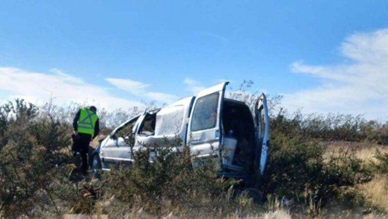 Un nene de Cervantes murió en un brutal accidente sobre la Ruta 22