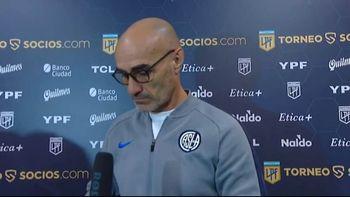 No va más: Montero dejó de ser el técnico de San Lorenzo