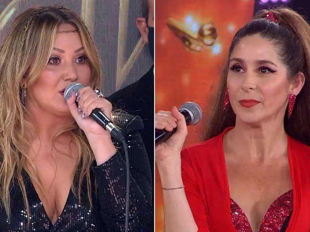 Karina fulminó a Laura Novoa en el Cantando: Se toman la cumbia para la joda