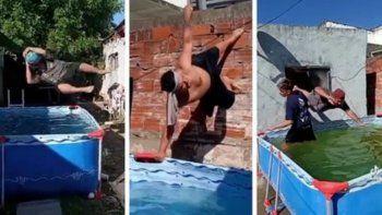 video: papurri y luisito, un boom viral que les sirvio para tener agua caliente