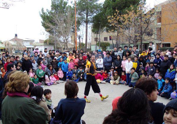Día del Niño en el barrio La Paz