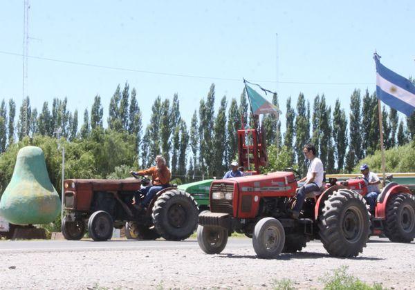 Los tractores volvieron a las rutas