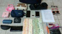 atraparon a tres delincuentes con un inhibidor de alarmas