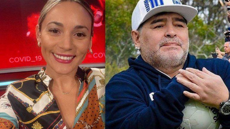 Rocío Oliva le ganó a Google y deberá eliminar su video íntimo con Maradona