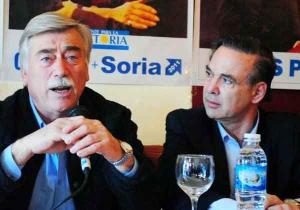 Soria y Pichetto juntos en Choele Choel