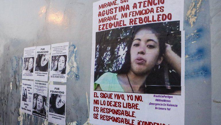 Agustina nunca volvió porque Ezequiel Rebolledo la mató